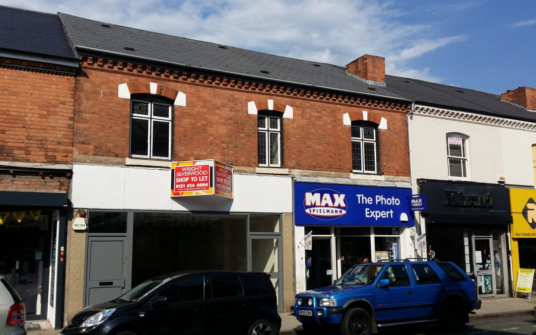 Retail Premises in Erdington Town Centre – New Commercial Property Letting