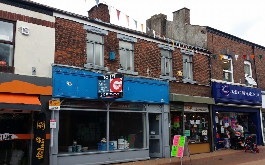 Newly Refurbished – Ground Floor Retail Premises in Chorley Town Centre