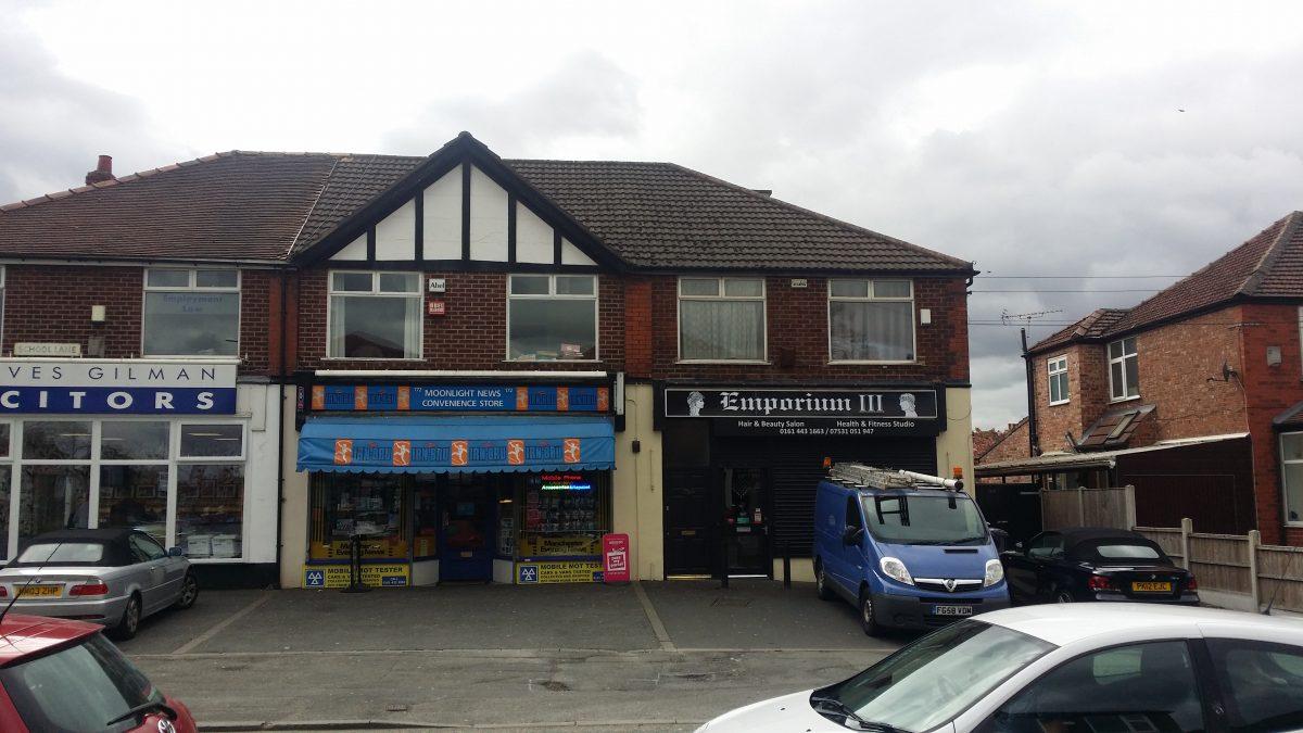 170 School Lane Didsbury Retail Premises Exterior