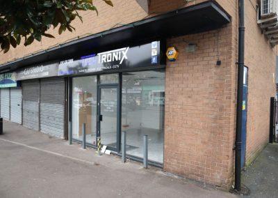 Fog Lane retail premises to rent