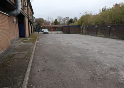 Car park to rear of Emery House Manchester