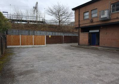 Private car park to rear of 199a Fog Lane - to let