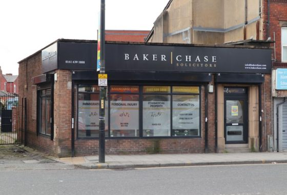 Outside of 626-626 Stockport Road Longsight Manchester - Commercial Property for rent