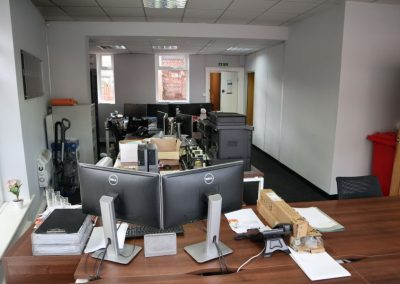 Open plan office or retail space to let in Longsight Manchester