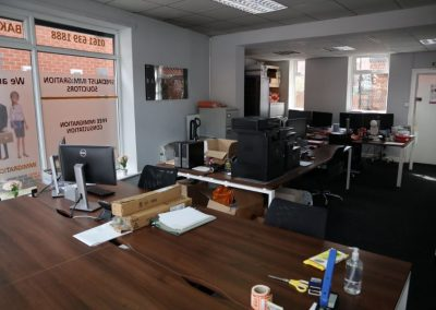 Open plan office space to rent at 624-626 Stockport Road Manchester