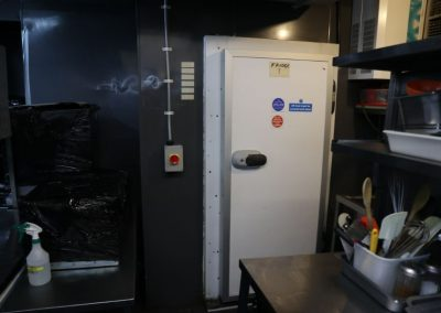 Walk in Chiller included as part of restaurant sale at 48 Portland Street Manchester