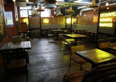 Restaurant area in 48 Portland Street Manchester to rent