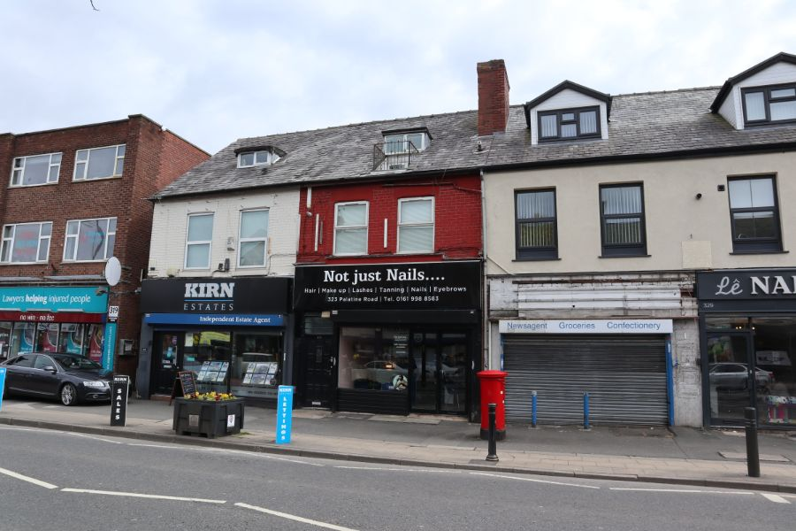 Shop to let at 323 Palatine Road Northenden Manchester