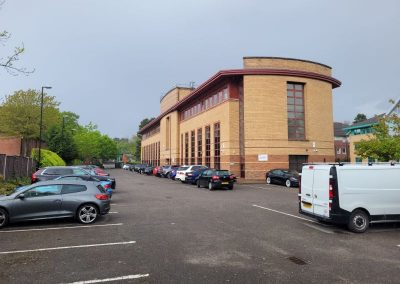 Private car park included in rental of office space in Cheadle