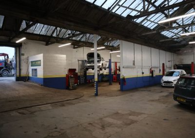 Dual pitched roof at Unit 1a Sandfold Lane, Levenshulme, Manchester - Commercial property for sale