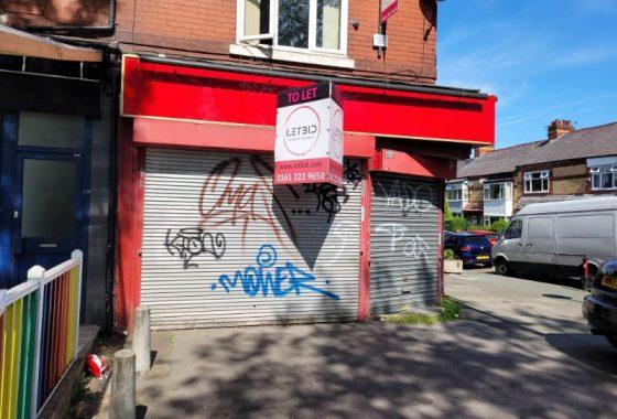 Retail premises to let in Chorlton