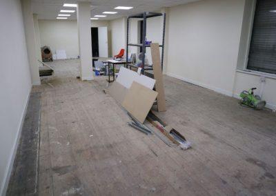 Inside shop at 129 Manchester Road Chorlton to rent